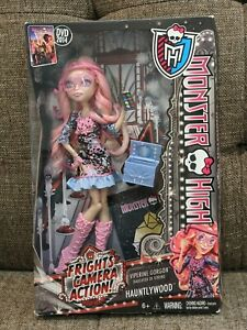 Monster High, Viperine Gorgon, Frights Camera Action, Hauntlywood