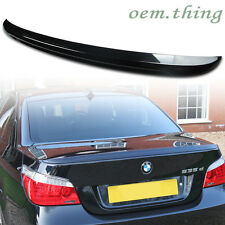 IN LA STOCK PAINTED BMW 5-Series E60 4DR M5 Style 528i Rear Trunk Spoiler #475