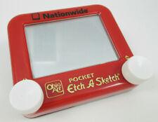 "Pocket Etch-A-Sketch 4""x 3.5'' Nationwide (Red)"