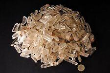 Minerali*** LOTTO di 5 PUNTE di CRISTALLO di ROCCA - QUARZO Brasile (Code: OPQ5)