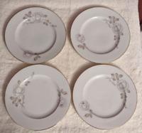 Johann Haviland Bavaria Roses Bread Plate Set of 4 Excellent