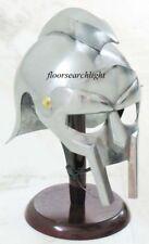 Medieval Gladiator Helmet Greek Roman Knight Maximus Costume Armor Helmet