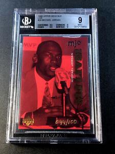 MICHAEL JORDAN 1998 UPPER DECK MJX #29 MJ LIVE INSERT /100 BGS 9.5 9 9.5 9 SUBS