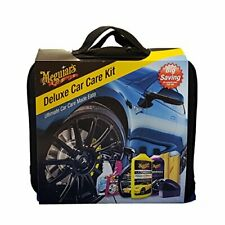 MEGUIAR'S Deluxe Car Care Kit, (g17716/g17516/g7516/g9524/g8216/x3090/2 xtuch)