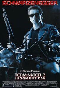 Terminator 2 Judgment Day 35mm Film Cell strip very Rare var_b