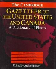 NEW - The Cambridge Gazetteer of the USA and Canada: A Dictionary of Places