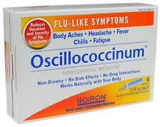 Oscillococcinum 6 Doses Homeopathy for Cold and Flu Boiron Original - UK Stock