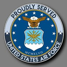 "US Air Force Veteran Decal Sticker 4"" USAF"