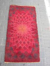 Beautiful Vintage Desso Rug mid century 143x70-cm / 56.2x27.5-inches