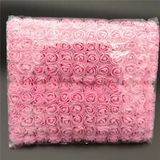 144pcs/lot Mini Foam Rose Artificial Flower Rose Bouquet Wedding Decorated Craft