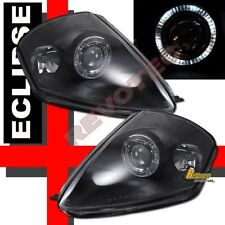 Black Halo Projector Headlights for 2000-2005 Eclipse RH+LH