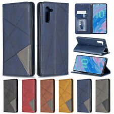For Samsung Galaxy Note 10 Plus A10s A30s A50s Flip Leather Wallet Case Cover