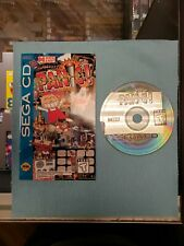 Panic (Sega CD, 1994) Disc and Manual only. Tested!!