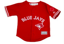 Toronto Blue Jays Infant Kids Toddler Age 4T Jersey Cool Base Scarlet Red Alt