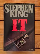 Stephen King - IT 1986 First Edition First Printing Near Fine Condition