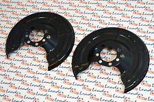Rear Solid Brake Discs Vauxhall Zafira 1.9 CDTI MPV 2005-11 120HP 265mm