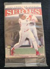 '95 Upper Deck Collector's Choice Am League Div Series Sealed Pk 10 card Griffey