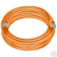 Cat 5E 350MHZ Ethernet Patch Cord Cable Orange, 75FT