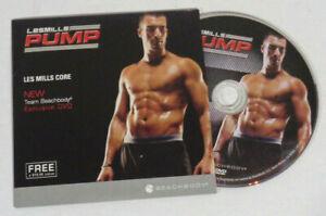 Les Mills Pump Core Exclusive Bonus DVD Define Tighten Tone Abs Workout Exercise