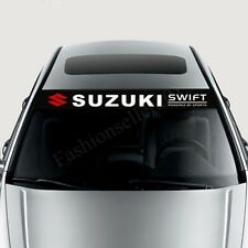 Front Windshield Decal Vinyl Car Stickers for SUZUKI swif Exterior Modifield Dec