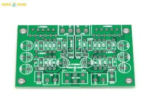 LM3886 MINI Stereo Pure Power amplifier Dynamic feedback circuit PCB (75*50mm)