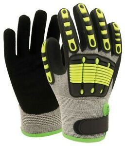 Cut Level 5 Impact Resistant Gloves pack of 5 - LARGE