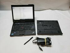 Lenovo ThinkPad X201 Tablet Laptop i7-L640 2.13GHZ 4 GB Ram 1TB  Stylus, dock,