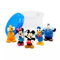 Disney Mickey Mouse Y Amigos Deluxe Baño Juguete Figuras Bañera Set Playset