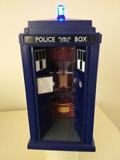 "Doctor who Tardis 12th.Tardis, 9""flight control,light & sound,collectable item."