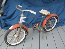 "Vintage Boys 16"" Hawthorne Clipper Bicycle Early 1960's Steve McQueen Style"