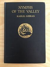 Nymphs of the Valley by Kahlil Gibran 1948 First 1st American Ed. Borzoi Knopf