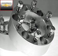 4 Pc Chevy HD Silverado 1500 6 Lug Wheel Spacers Adapters 2.00 Inch # AP-6550E14