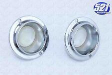 Mopar Console Light Lenses Bezels Pair 66-70 RoadRunner SuperBee Charger Newport