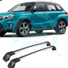 Aluminum Baggage luggage Roof Rack Roof Rail Trim Fit For Suzuki Vitara 15-18 BH