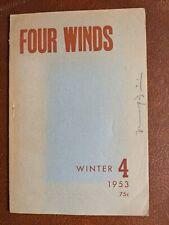 Four Winds (1953) ed. Ferrini with Olson, Baskin, Corman et al.