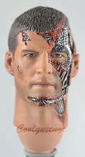 Hot Toys 1/6 Scale Terminator Salvation Marcus Wright - Damaged Head Sculpt