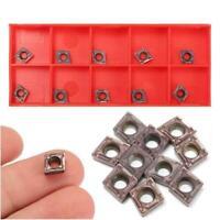 10pcs CCMT060204 Carbide Inserts Blades for CNC Lathe Turning Tool Boring Bar ST
