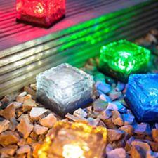 Solar Christmas Lights Decor Xmas Lighted Path Outdoor Led Lamps Walkway Garden