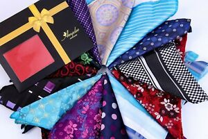 Men's Pocket Square - Premium Silk Handkerchiefs for Suits Made of Soft Material