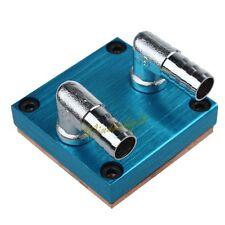 Copper Computer CPU VGA Water Cooling Cooler Base Block Waterblock Heatsink