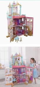 NRFB KidKraft Disney Princess Dance & Dream Dollhouse