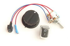 Powakaddy Freeway Potentiometer On/Off Switch & Knob - Fully Insulated Terminals