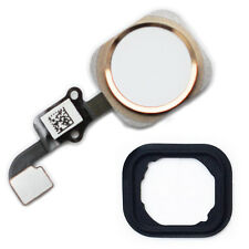 iPhone 6 Cable Flex Boton Home ID Sensor Táctil Reemplazo Menú Tecla Goma oro