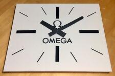 OMEGA Wall Clock 1960's Speedmaster Seamaster Constellation Ploprof OEM Vintage