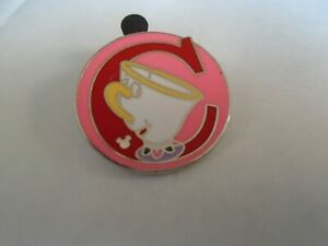 Disney's C Chip From Beauty & The Beast Hidden Mickey  Pin  Badge 6 OF 26
