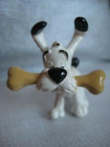 Seltene Asterix PVC Figur von Muehleck: Idefix mit Knochen 1997 Goscinny Uderzo