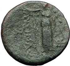 LYSIMACHEIA founded by Lysimachos Thrace 309BC Hercules Nike Greek Coin i60985