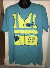 SXSW VOLUNTEER GET INSPIRED T-SHIRT SIZE XXL AUSTIN TEXAS - COOL WORKER GRAPHIC!