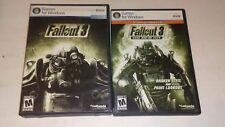 Fallout 3  PC DVD-Rom Game Rated M for Mature Live &  Fallout 3 Add -on Pack