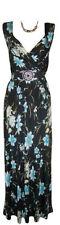 V Neck Formal Floral Maxi Dresses for Women